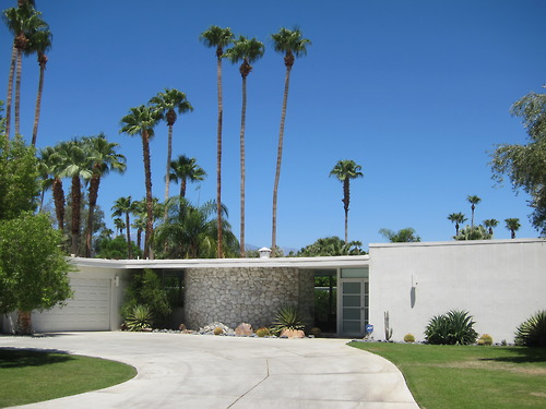 Mid-Century Modern Architecture : The Movie Colony, Palm Springs, CA 92262
