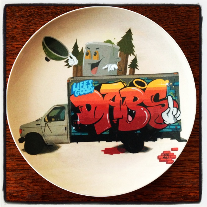 Little plate by DABS