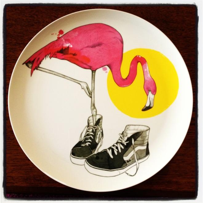 The RIK LEE flamingo