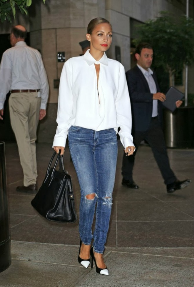 Nicole-Richie-Style-Fashion-Balenciaga-Saint-Laurent