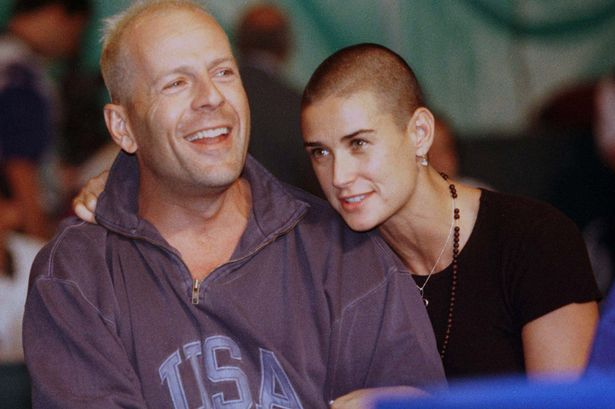 Bruce Willis and Demi Moore-1587875